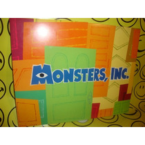 Monsters Inc. Dibujos Disney Store Lote De Cuatro $480