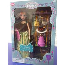 Anna Que Canta Con Columpio Pasteles Y Patos Disney Store