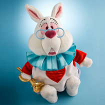 Disney Store Peluche Conejo Blanco White Rabbit 38cm 2016
