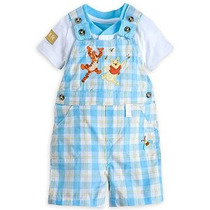 Disney Store Winnie The Pooh Tigger Dungaree Body Set De 12-