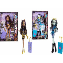 Frankie Clawdeen Wolf Loba Scaris Monster High