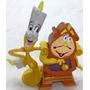 Disney Princess- La Bella Y La Bestia Figura Lumiere Y Din D