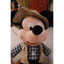 Peluche Disney Parks Mickey Mouse Raton Edicion Pescador