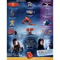 Figuras Avatar The Last Airbender Mcdonalds Nuevas
