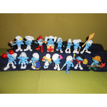 Figuras Pitufos 1 Coleccion Completa 16 Mcdonalds