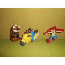 Lote 3 Figuras Buza Caperuza De Mcdonalds