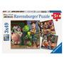 Disney Pixar Toy Story Woody Y Rex - Conjunto De 3 Puzzles -