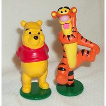 2 Figuras Winnie Pooh Disney Tigger Toys Froy Lbf