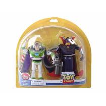 Buzz Lightyear Y Zurg De Toy Story Figuras De 16cm En Oferta