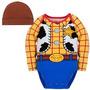 Disney Store Toy Story Woody Onesie Halloween Costume Body M
