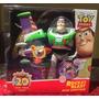 Toy Story Figura Buzz Lightyear Cohete Articulado Sonidos