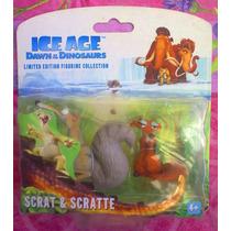 La Era Del Hielo Set De Figuras De Scrat Y Scratte