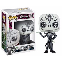 Jack Skellington Day Of Dead Nightmare Before Xmas Funko Pop