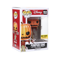 Jack Skellington Pumpkin King Brilla Gid Funko Pop Disney
