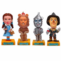 Mago De Oz Wizard Of Oz Set Bobble Head Funko Wacky Wobbler