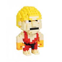 Ken Street Fighter Bricks Armable Del Videojuego Mini Bloque