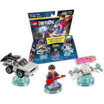 Lego Volver Al Futuro Dimensions Back To The Future Marty Mc
