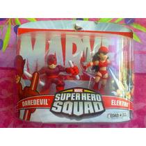 Marvel Set De Figuras Daredevil Y Elektra