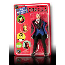 Mad Monsters 8 Pulgadas, Dracula Tipo Mego