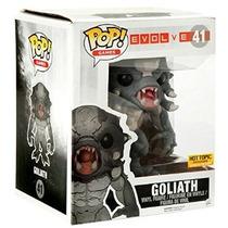 Funko Pop Exclusivo Brilla Oscuridad Games Evolve 6 Goliath