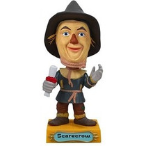 Funko Bobble Head Scarecrow Espanta Pájaros Mago De Oz