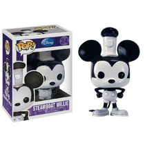Funko Pop Steamboat Willie Disney Mickey Mouse Raro Nuevo