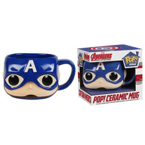 Funko Taza Capitan America Ceramica Marvel Avengers Captain