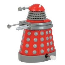 Doctor Who: Dalek Rojo De Cuerda Se Desplaza Y Gira Cabeza!