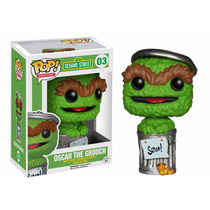 Oscar Gruñon Funko Pop Plaza Sesamo Sesame Street The Grouch