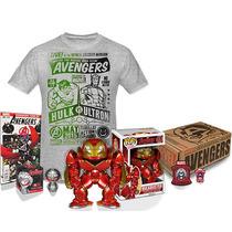 Funko Pop Avengers Collector Box Hulkbuster Talla M Nuevo