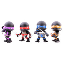 Tortugas Ninja Stealth 4pk The Loyal Subjects Comic Con Tmnt