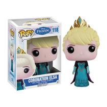 Funko Pop Coronation Elsa Frozen Coronación Disney Nuevo