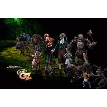 Completa Twisted Land Oz Mcfarlane Dorothy Wizard Lion Spawn