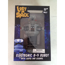 Robot B-9 Lost In Space Con Luces Y Sonido Diamond Toys