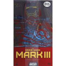 Hot Toys Iron Man Mark 3 Iii With Arc Rear Mms256