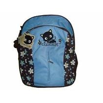 Mochila Hello Kitty Chococat Para Primaria Azul