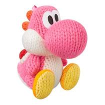 Amiibo Yoshi Wooly Rosa Wii U Figura Gaming Nintendo