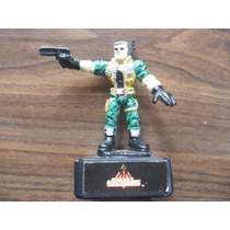 Figura Y Sello Small Soldiers Pequenos Guerreros