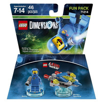 Lego Dimensions Fun Lego Movie Benny Astronauta Armable
