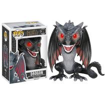 Funko Pop Drogon Exclusivo Game Of Thrones Dragon Ojos Rojos