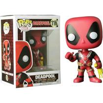 Funko Pop Deadpool Con Pollo Exclusivo Marvel Vinyl Chicken