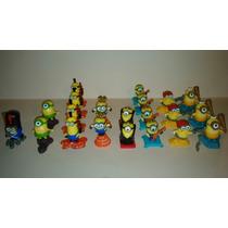 Figuras Miniatura De Minions Huevo Kinder