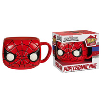 Funko Taza Spiderman Ceramica Marvel Avengers Hombre Araña
