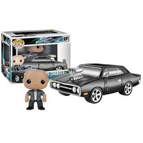 Funky Pop Toretto With 1970 Dodge Charger Fast & Furious