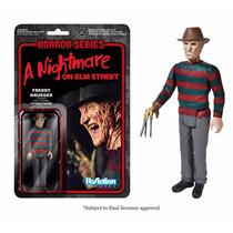Funko - Freddy Krueger Horror Series Reaction Figuras 3 3/4