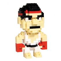 Riu Street Fighter Bricks Armable Del Videojuego Mini Bloque