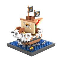 Barco Pirata Para Ensamblar Loz De One Piece 360 Piezas