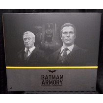 Hot Toys Batman Dark Knight Armory & Alfred Mms236