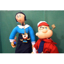 Popeye Serie Tv Lote 05 Figuras P Compra Ve Descripcion