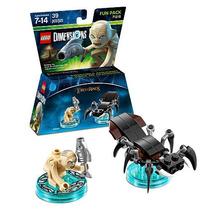 Lego Dimensions Señor De Los Anillos Gollum Araña Lord Of Th